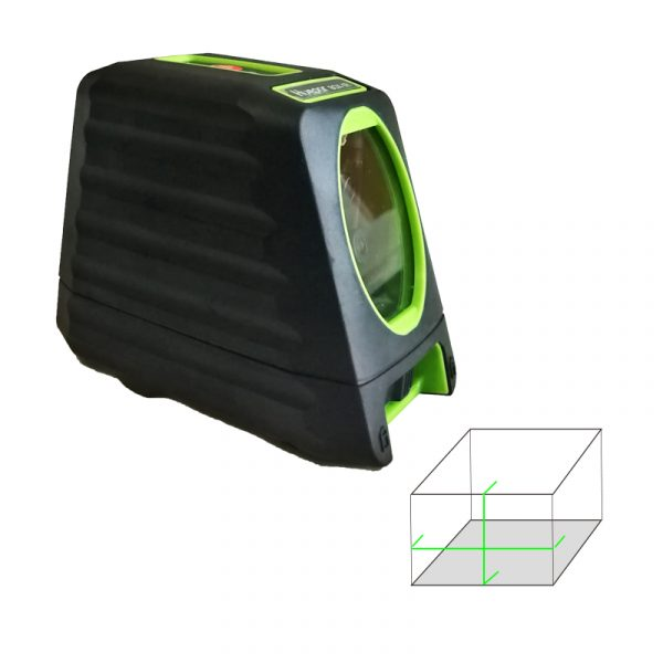 laser level 1V1H box green